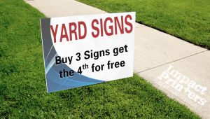 Yard Sign Promotion